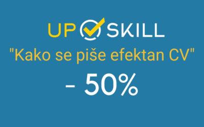 50% popusta na Upskill kurs