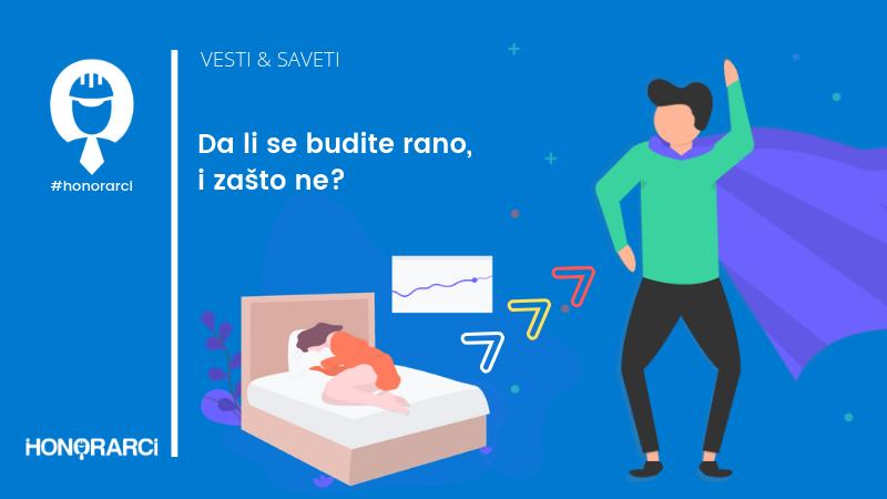 Da li se budite rano i zašto ne?